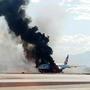 New video shows British Airways Boeing 777 fire at McCarran
