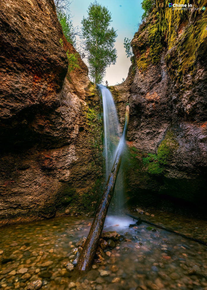 Grotto falls in Payson Canyon. (Brian Meyer)