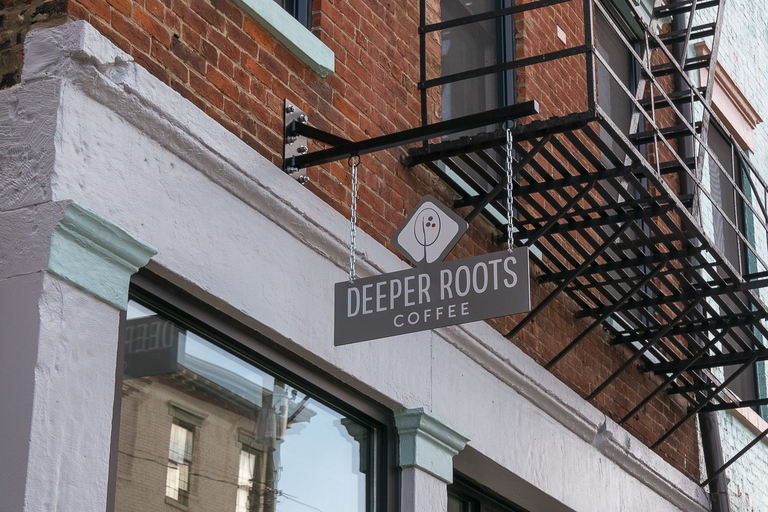 Deeper Roots Coffee, the artisan roaster known for its Oakley location, opened another spot on Race Street at Findlay Market within the last year. Serving the same signature coffee, as well as assorted Mainwood Pastry pastries, the bright, airy shop has a modest front room with a courtyard outside and a larger lounging area in the rear of the building. It is located on the streetcar line and is within a stone's throw from the Findlay Market Race Street stop. ADDRESS: 1814 Race Street (45202) / Image: Phil Armstrong, Cincinnati Refined // Published: 3.12.18