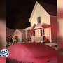 Firefighter hospitalized after Mishawaka house fire