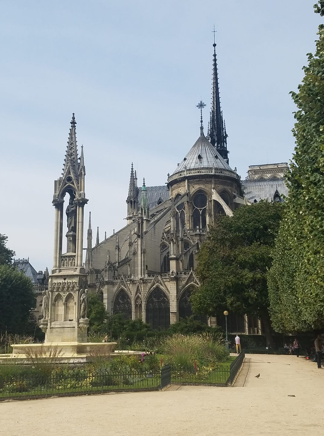"""Such gorgeous architecture. The photos really don't do it justice"" Locals shared their memories and photos of the historic Notre Dame on April 15, 2019 after hearing the gothic Parisian cathedral suffered serious damage after a fire.. (Image - Kayla Schoonhoven)"