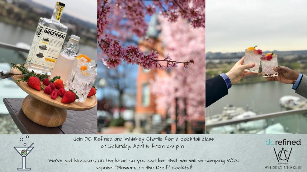 Join DC Refined and Whiskey Charlie for a cocktail making class on Saturday June 2 from 2-3 p.m. Guests will learn how to make two cocktails.jpg