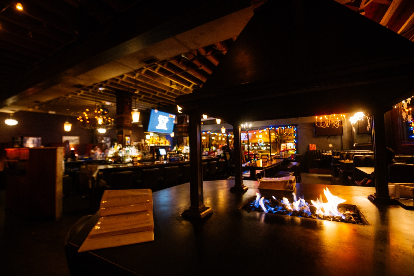 Next time you're in West Seattle, venture into Talarico's, at 4718 California Ave SW, Seattle, WA 98116.   Brrr! We're hitting some real cold temps out there people. If you don't have a fireplace at home, hop on over to one of these bars and get warm (inside and out)! (Image: Joshua Lewis / Seattle Refined)