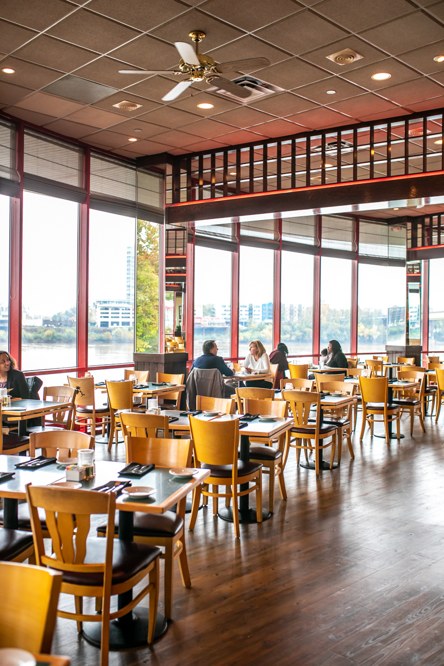 There's also a Boathouse location near Downtown sitting on the edge of the Ohio River. The spot has a fun atmosphere, close proximity to the city, upstairs sports lounge, and spectacular views of the river. BOATHOUSE ADDRESS: 925 Riverside Drive (45202) / Image: Amy Spasoff // Published: 11.2.18