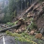 Landslide closes Hwy 36 west of Triangle Lake