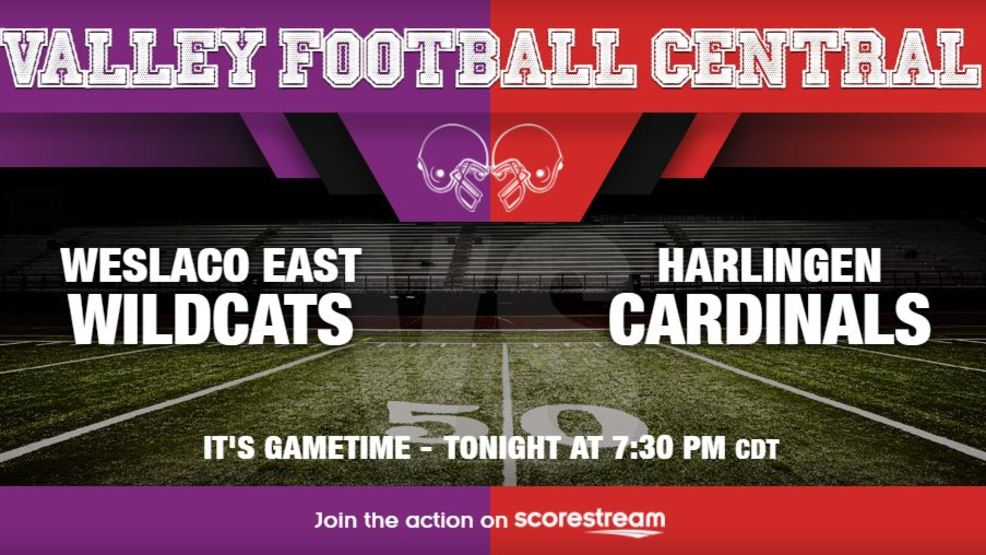 Listen Live: Weslaco East Wildcats at Harlingen Cardinals