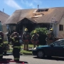 Firefighter treated for heat exhaustion after Renton house fire