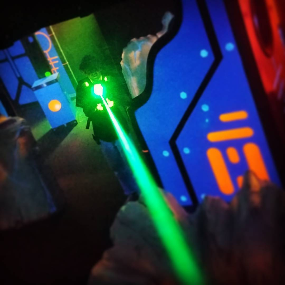 3. Laser Kraze: for the adult who still has the energy level of a kid. ADDRESS: 7082 Columbia Rd (45039) / Image: IG user @lazerkrazemason / Published: 1.6.17