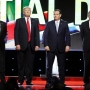 CNN questions Trump about campaign rally violence during GOP debate