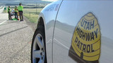 Utah Highway patrol car stolen by handcuffed suspects