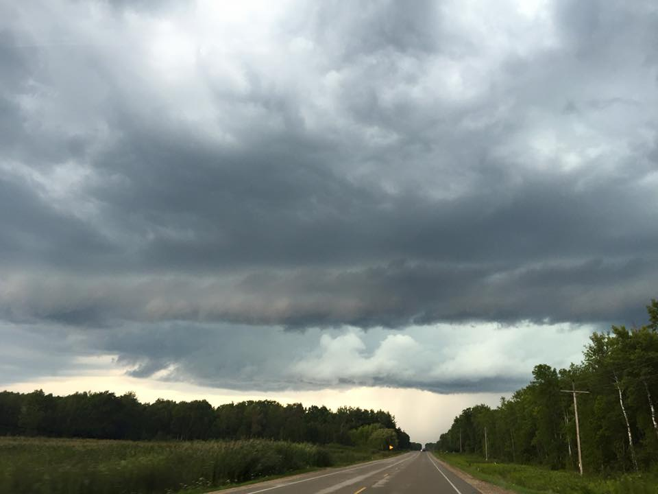 "Aug. 14: ""Crazy skies"" (Submitted by Shannon Dolan Pomeroy)"