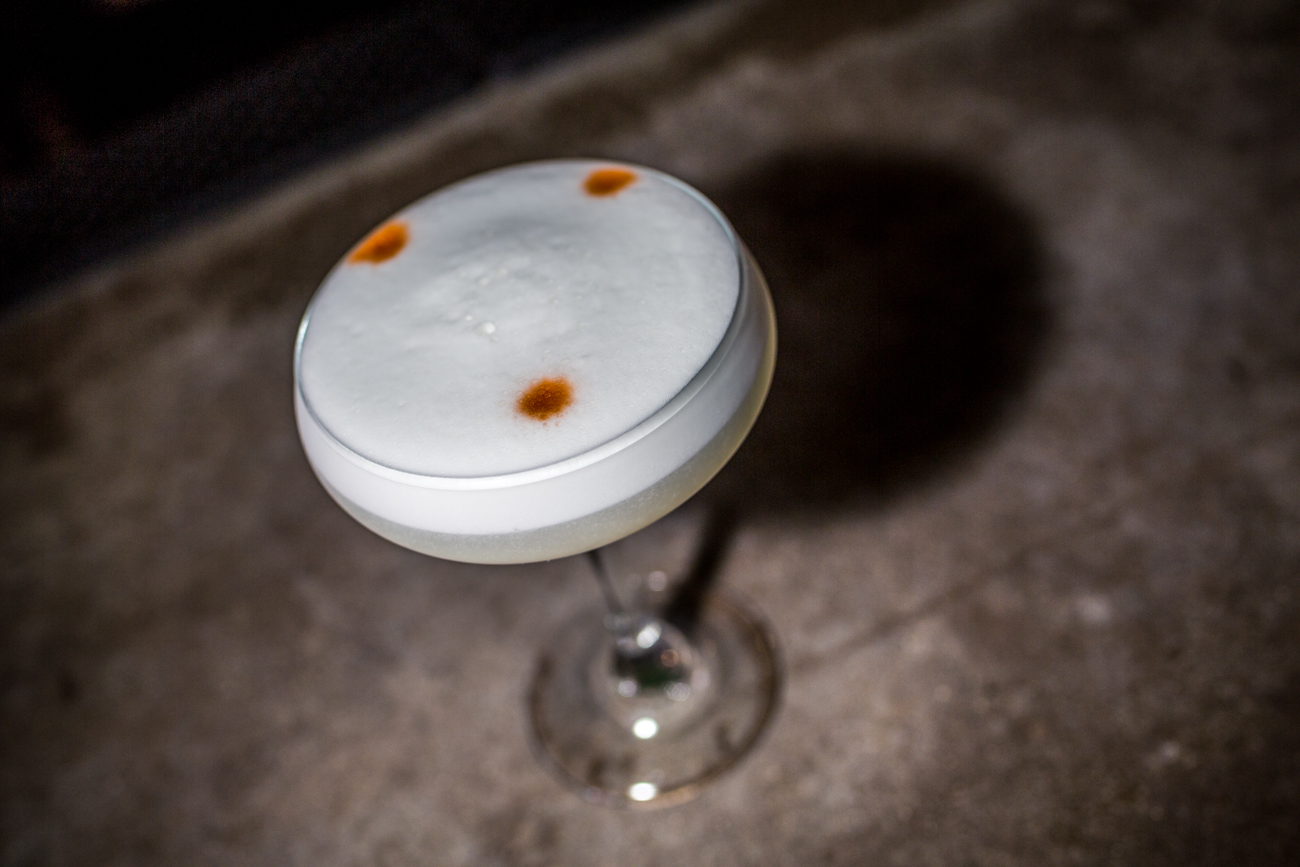 Pisco Sour: Pisco, egg white, fresh lime, simple syrup, and bitters / Image: Catherine Viox // Published: 6.12.19