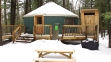 Maine's new winter camping craze