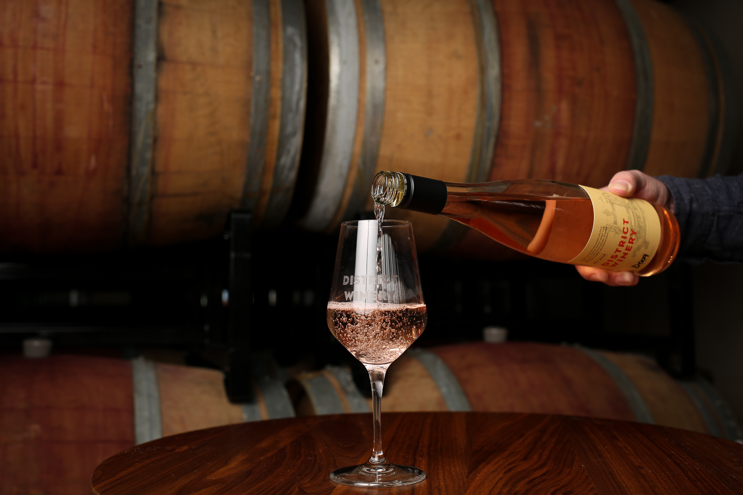 Last year, District Winery's rosé was a smash hit.{&amp;nbsp;} (Amanda Andrade-Rhoades/DC Refined)<p></p>