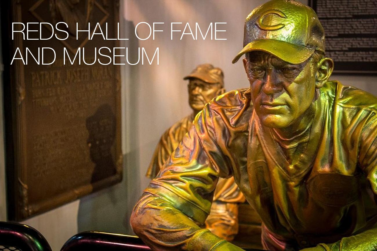PLACE: Reds Hall of Fame and Musem / DESCRIPTION: a museum filled with memorabilia celebrating Reds history and its players / ADDRESS: 100 Joe Nuxhall Way (45202) / ADMISSION: $10 adults, $8 seniors, $8 students, $6 military and veterans, FREE for children younger than 4 years old / Image: Austin Coop // Published: 11.29.17