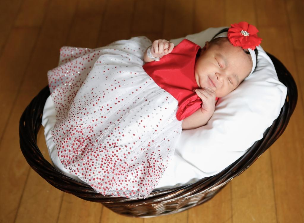 Kimora, our Baby of the Day for February 26, 2016. Photo courtesy of Palms West Hospital and Bella Baby Photography