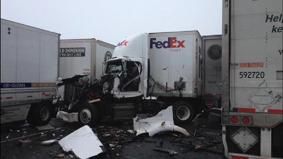 12 injured in 26-vehicle pileup on I-84 in eastern Oregon | KMTR