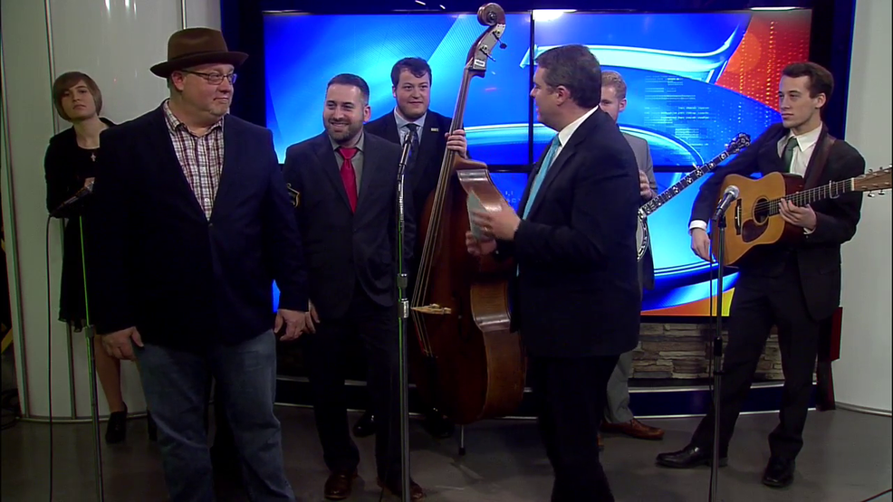ETSU Bluegrass Band stops by; Pickin' Porch Show coming up Friday
