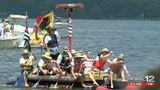 The Great Trent River Raft race makes a splash