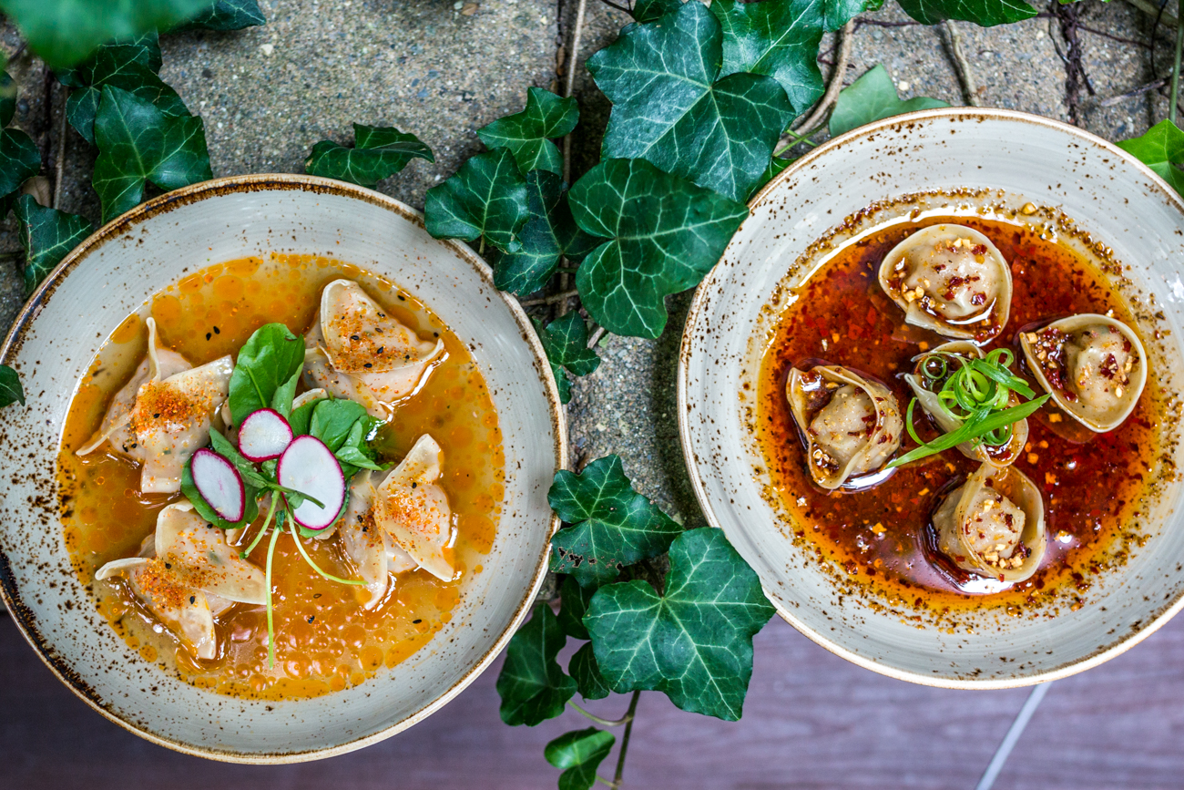 Chicken ginger and chili dumplings / Image: Catherine Viox{ }// Published: 9.9.19
