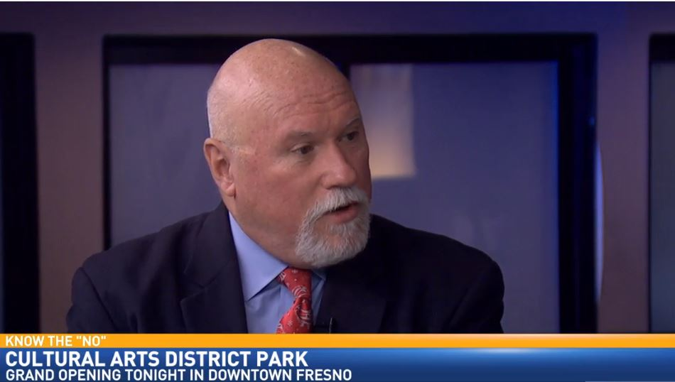 Director of Communications and Public Affairs for the City of Fresno, Mark Standriff, visited Great Day to discuss the opening of the Cultural Arts District Park this week.