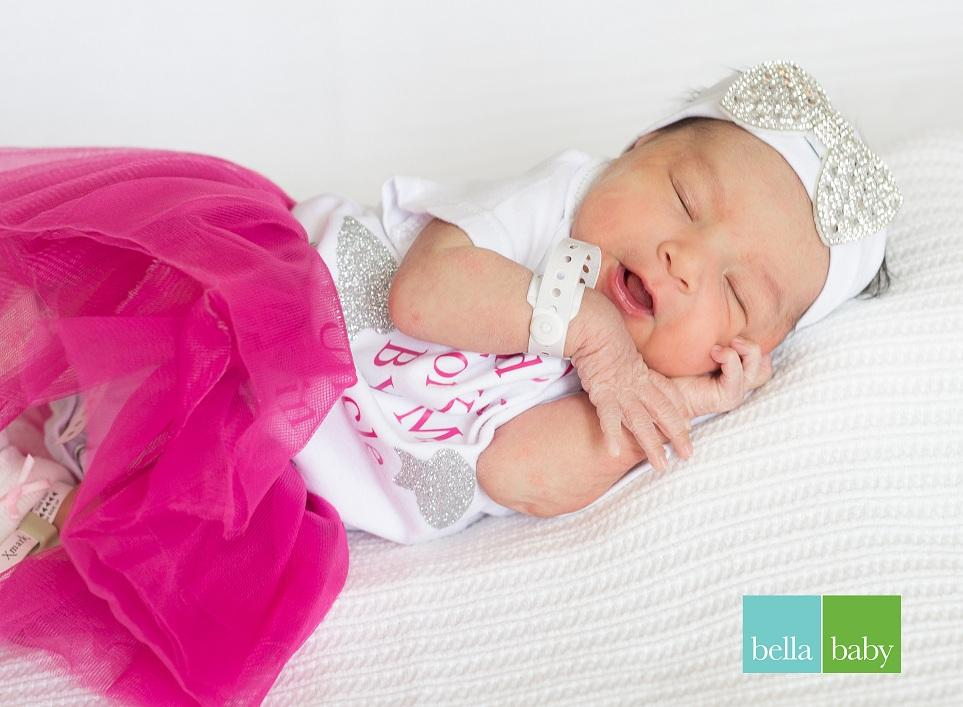 Melanie, our Baby of the Day for November 12, 2015. Photo courtesy of Palms West Hospital and Bella Baby Photography