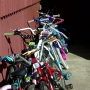 Norwood police give away free bikes