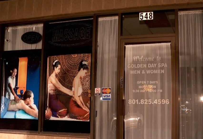 Layton spa closed after owner accused of money laundering and prostitution (Photo: KUTV)