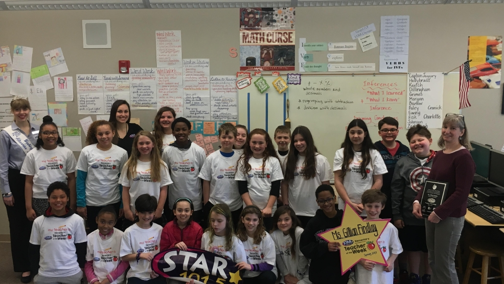STAR 101.5's Teacher of the Week: Ms. Gillian Findlay