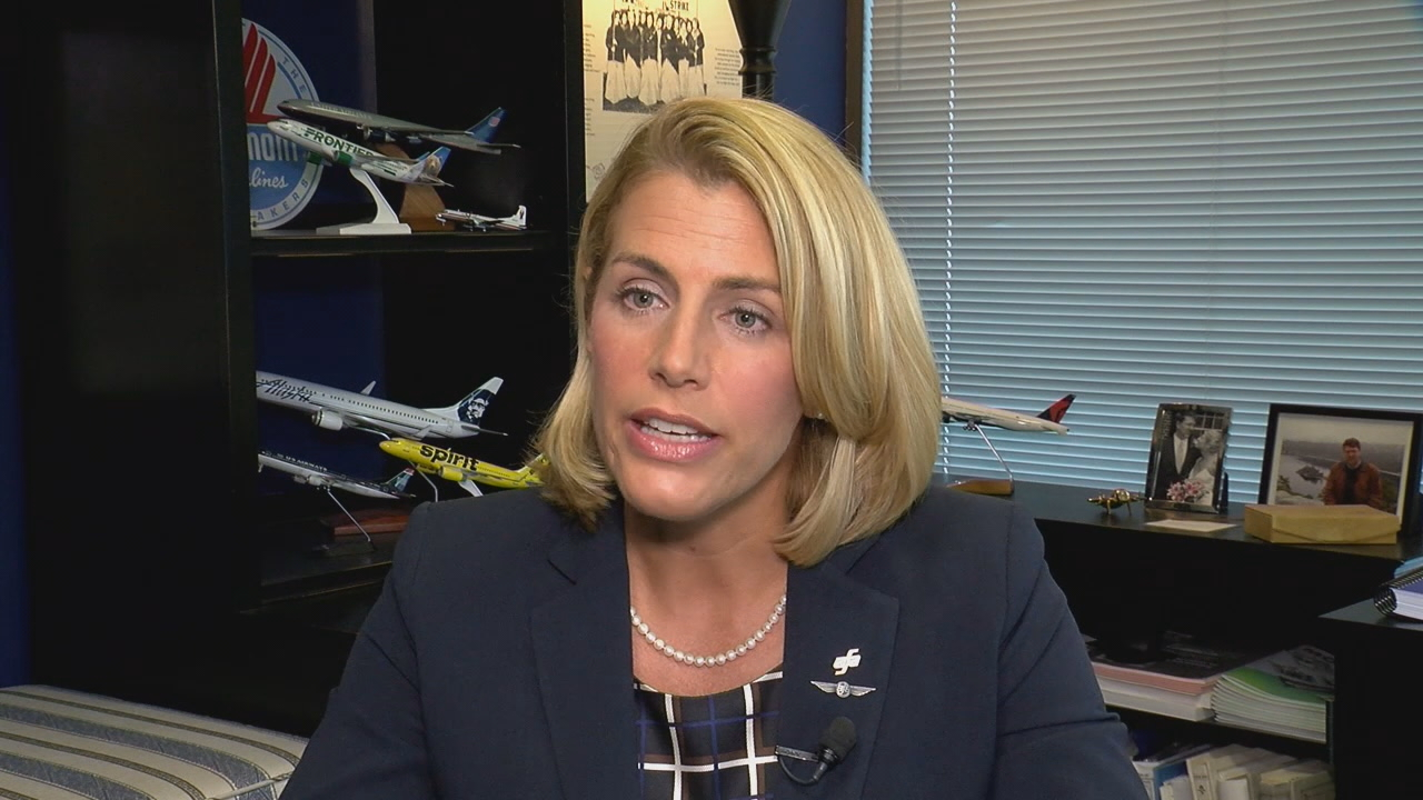 The Association of Flight Attendants and its President Sara Nelson support expanding training to include how to respond to sexual assaults. (KOMO)