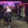 Police: Driver fleeing officer crashed SUV just feet from home where children slept