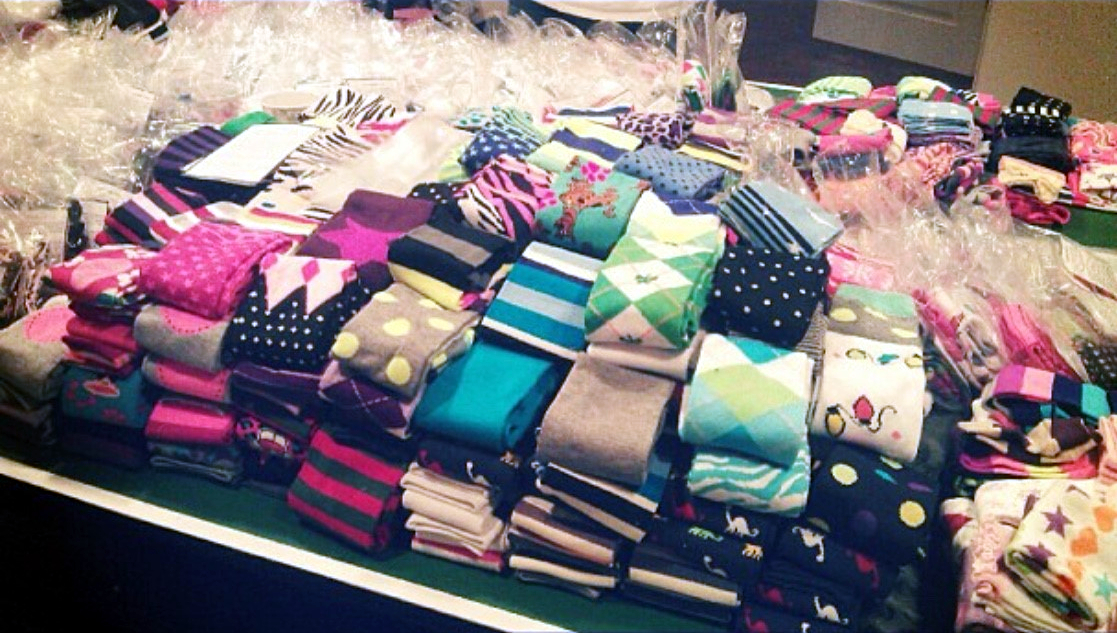 Pay it Forward: Leggings Project (Photo provided by Kendra Webster)