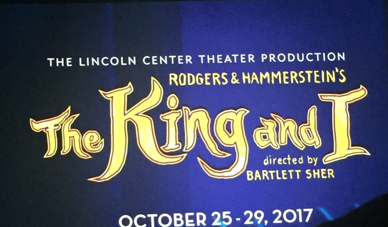 Rodgers & Hammerstein's The King and I was revealed as an upcoming tour during the Smith Center for the Performing Arts 2017-2018 Broadway series preview Tuesday, Feb. 28, 2017, in Reynolds Hall. It will run in Las Vegas from Oct. 25-29, 2017 (Jami Seymore | KSNV)