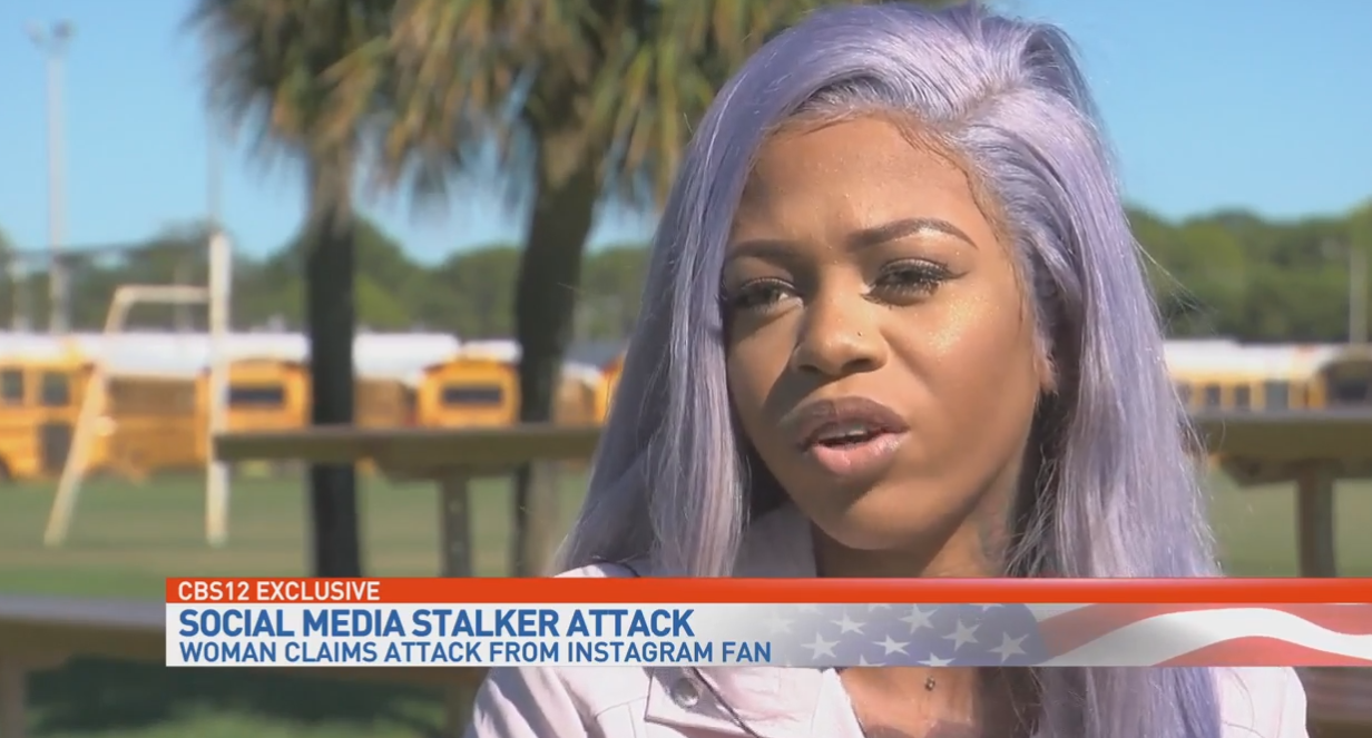 Music artist attacked at home by an Instagram follower. (WPEC)