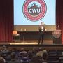 Attorney General Bob Ferguson speaks at CWU about recent events impacting students