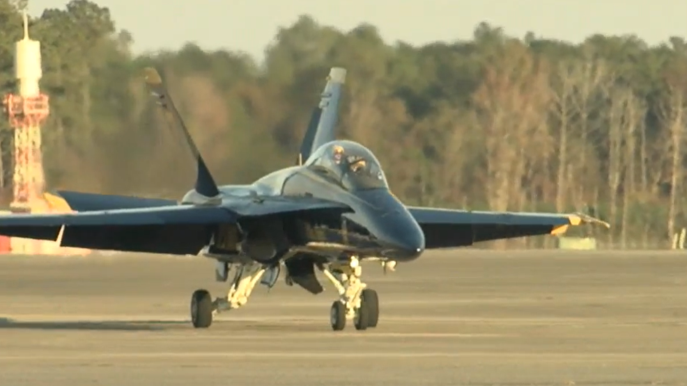 Cherry Point Air Show 2020.Blue Angels Visit Prepare For Air Show Wcti