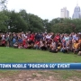 Hundreds gather in downtown Mobile to play Pokémon Go