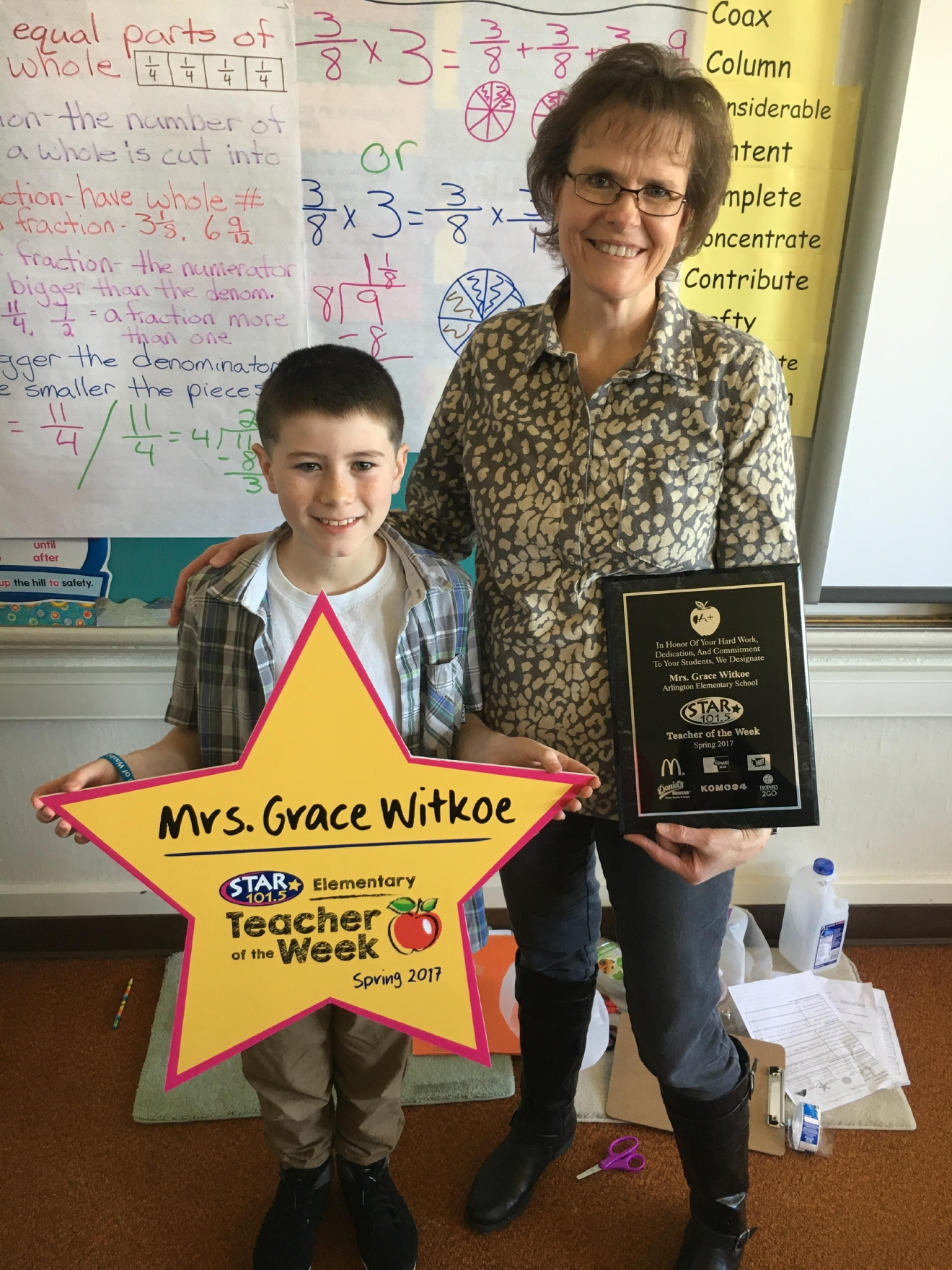 STAR 101.5's Teacher of the Week: Mrs. Grace Witkoe