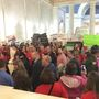 West Virginia teachers from seven counties rallying Friday at Capitol