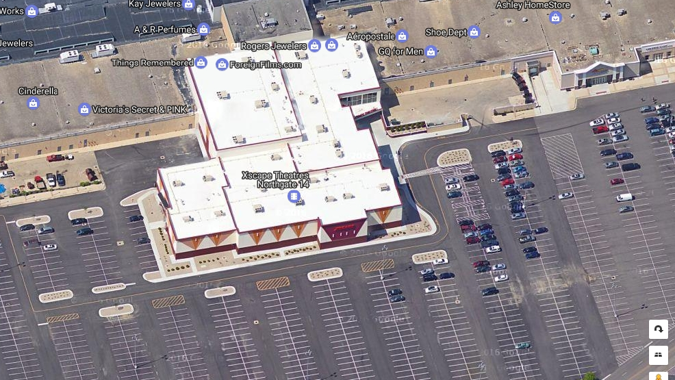 gunfire exchanged in parking lot of northgate mall movie