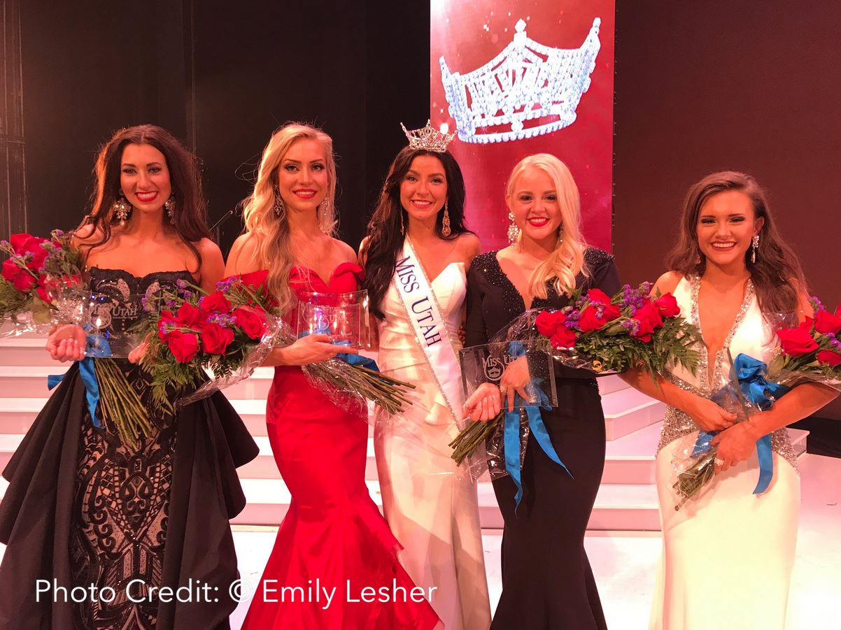 Miss Utah 2017 winners. (Photo: Emily Lesher)