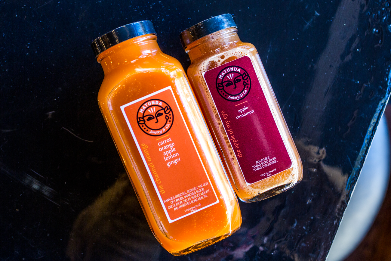 Matunda cold pressed juices / Image: Catherine Viox{ }// Published: 11.7.19