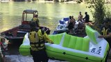 Two water rescues take place Saturday at Armitage Park