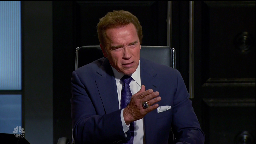 Arnold Schwarzenegger mocks Donald Trump for new approval ratings low