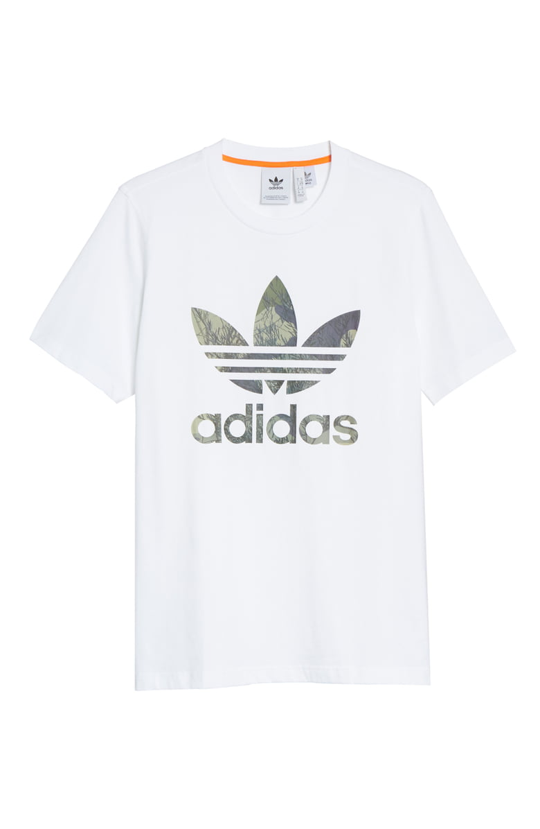 "A shirt you buy for him that you can steal for you. A win/win.{&nbsp;}<a  href=""https://www.nordstrom.com/s/adidas-originals-camo-trefoil-t-shirt/5505718?origin=keywordsearch-personalizedsort&breadcrumb=Home%2FAll%20Results&color=white"" target=""_blank"" title=""https://www.nordstrom.com/s/adidas-originals-camo-trefoil-t-shirt/5505718?origin=keywordsearch-personalizedsort&breadcrumb=Home%2FAll%20Results&color=white"">Adidas, Camo Trefoil T-Shirt</a>: $19.90 (after sale $30){&nbsp;} (Image: Nordstrom)"