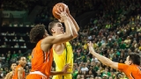 Photos: Ducks claim huge win over Beavers, 85-43