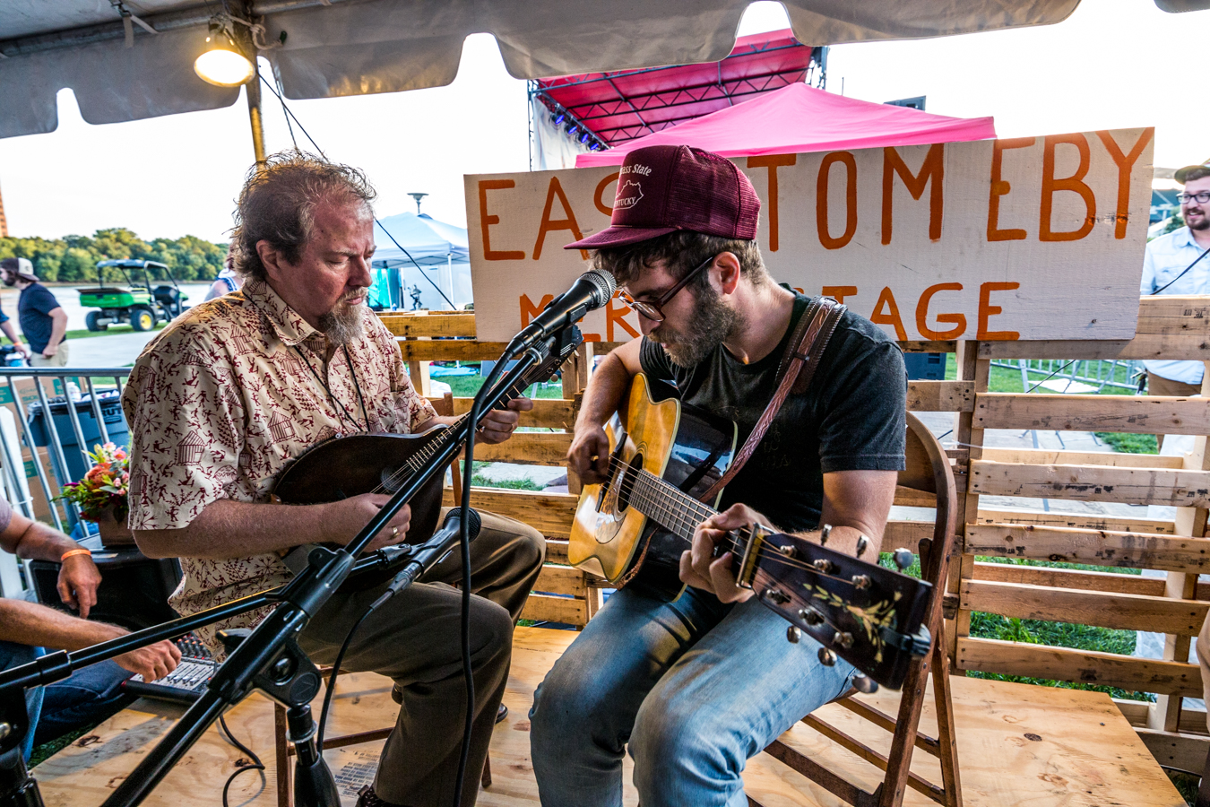 The Whispering Beard Folk Festival jammed for three days at Smale Park from Thursday, August 22 to Saturday, August 24. The festival was formerly held in Friendship, IN before coming to Cincinnati's riverfront this year. / Image: Catherine Viox // Published: 8.25.19<p></p>