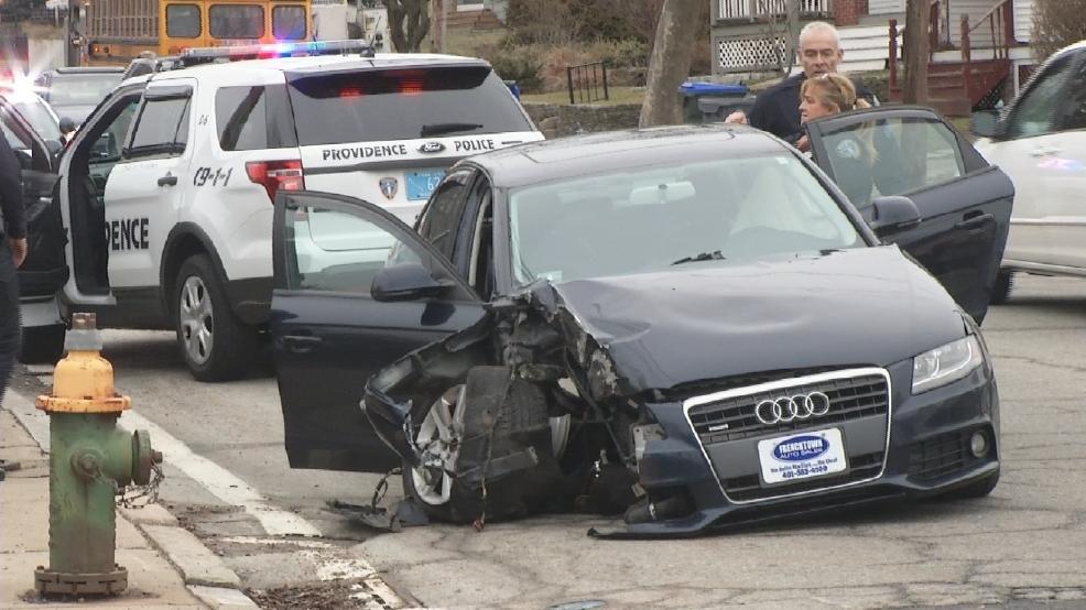 Driver Hospitalized After Car Crash In Providence Wjar - Www imagez co