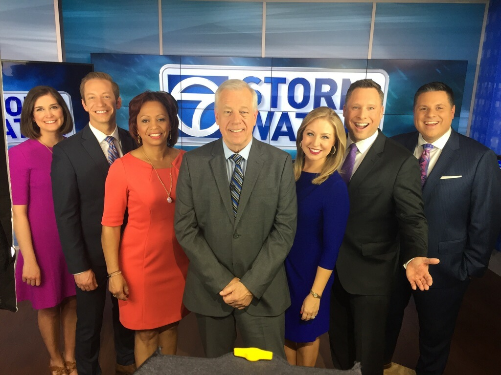 Saying farewell to StormWatch7's Chief Meteorologist Doug Hill. (Photo: ABC7)