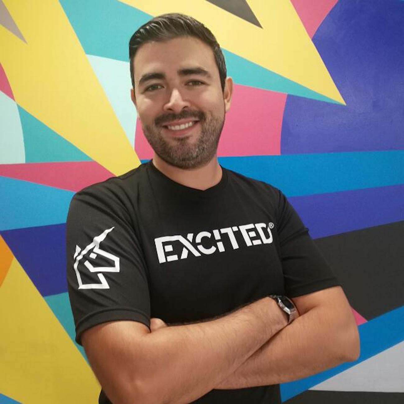 Ivan Manzo is COO of EXCITED.  The startup went through the Hillman accelerator. / Image: Courtesy Hillman // Published: 8.29.18